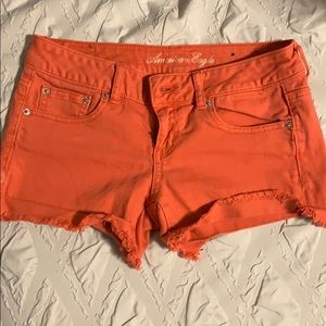 American eagle (coral)  jean shorts size 4